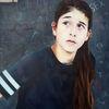 Teenager, Wand, Unschuld, Malerei