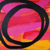 Pink, Acrylmalerei, Gemälde, Orange