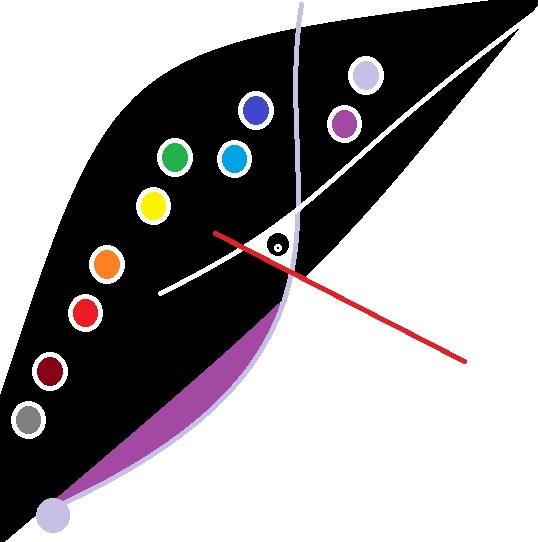 Malerei, Abstrakt, Farben, Weiß, Digitale kunst