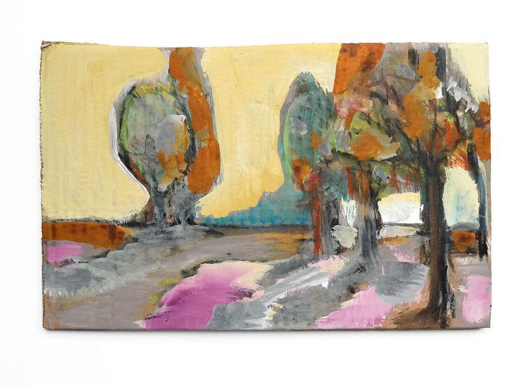 Herbst, Natur, Erntedankfest, Malerei