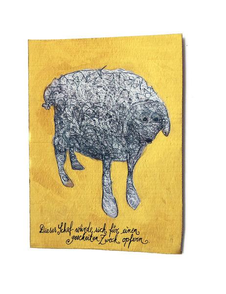 Schaf, Opfer, Zweck, Zeichnungen