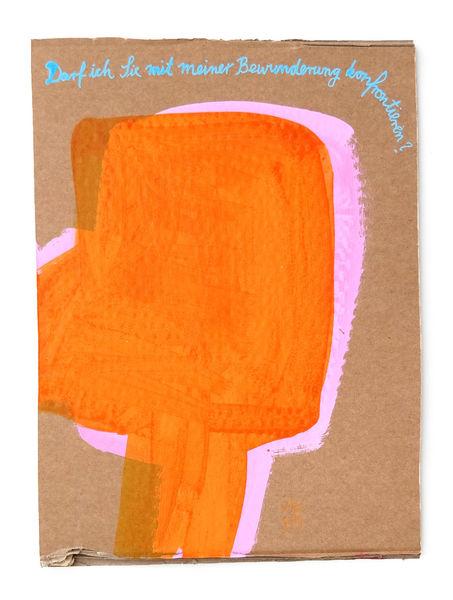 Verehrung, Bewunderung, Konfrontation, Malerei