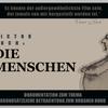Screenshot aus Victor Kochs: DIE MENSCHEN - Mensch, Hund, Vögel, Hitchock, Stadt, Plattenbau, Gestänge, Wohnsilo Pudel, klettern