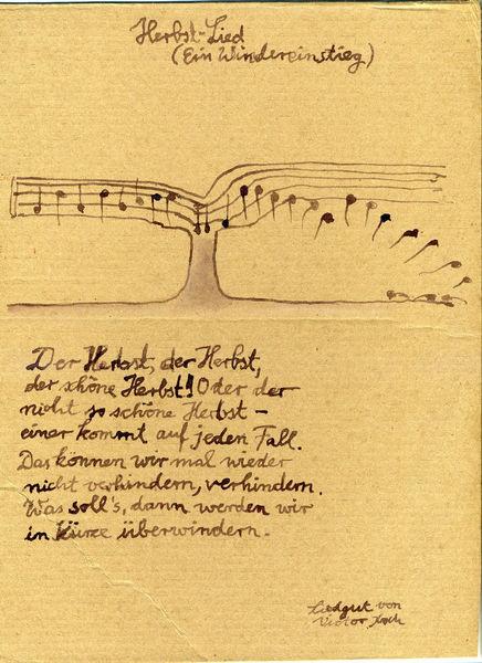 Baum, Notenlinien, Strophe, Liedgut, Lied, Blätter