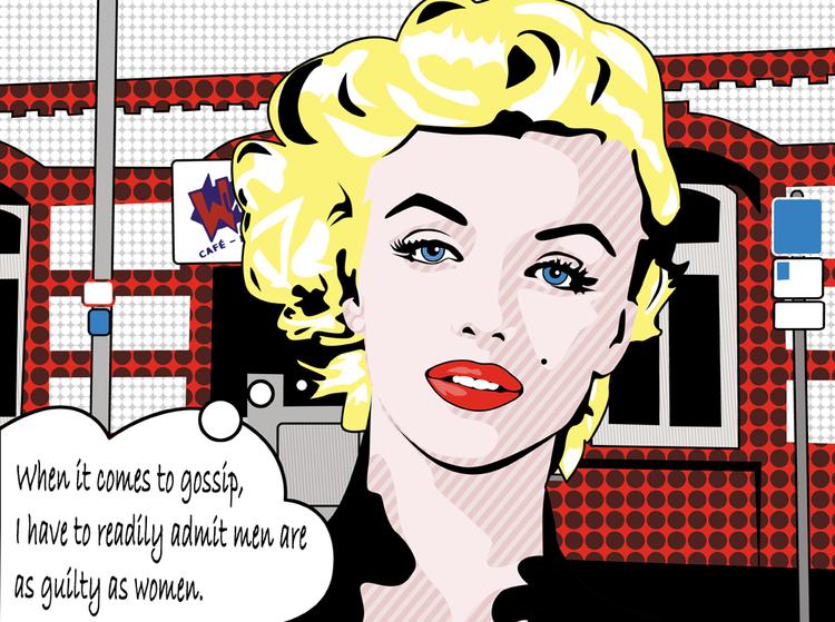 Pop, Photoshop, Lichtenstein, Neopopart, Warhol, Illustration