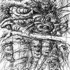 Grafiktablett, Zeichnung, Kohlezeichnung, Digitale malerei