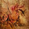 Riss, Schatten, Acrylmalerei, Struktur