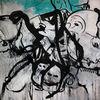 Selten, Abstrakt, Acrylmalerei, Malerei