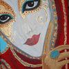 Venedig, Maskerade, Acrylmalerei, Maske