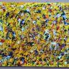 Acrylmalerei, Voodoo, Malerei,