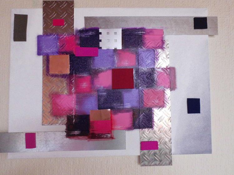 Konstruktiv, Assoziativ, Malerei, Coloured,