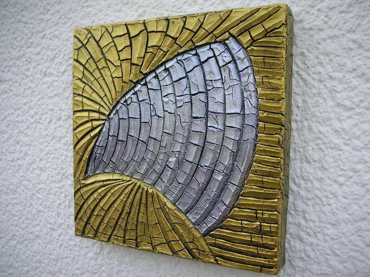 Silber, Kn17, Gold, Mischtechnik
