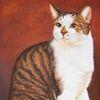Katze, Auftragsarbeit, Harzöl, Realismus