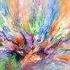 Abstrakt, Acrylmalerei, Groß, Malerei
