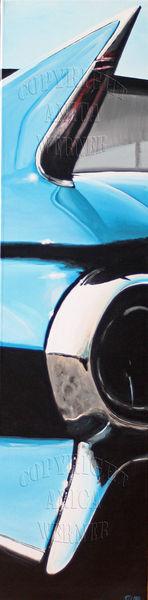 Oldtimer, Amerika, Technik, Auto, Acrylmalerei, Cadillac