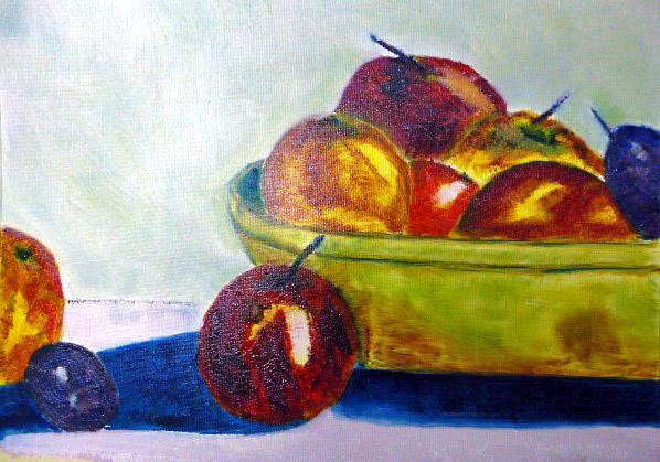 Ölmalerei, Di vora anneliese, Divo, Malerei, Stillleben,