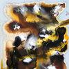 Braun, Fantasie, Abstrakt, Gelb