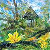 Natur, Landschaft, Pavillon, Herbst