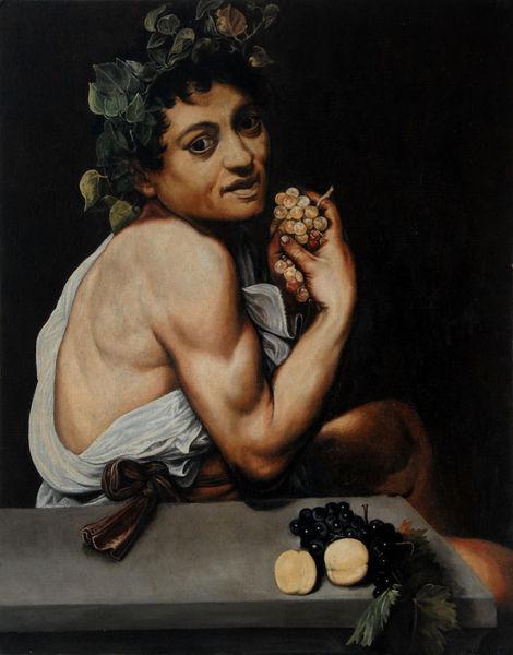 Caravaggio, Malerei, Kopie, Cooles ding, Bacchus, Schnäppchen