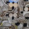 Malen, Geschliffen, Holz, Abstrakt