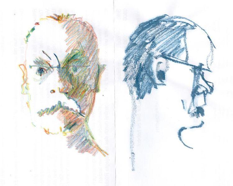 Frrontal, Seitlich, Zeichnungen