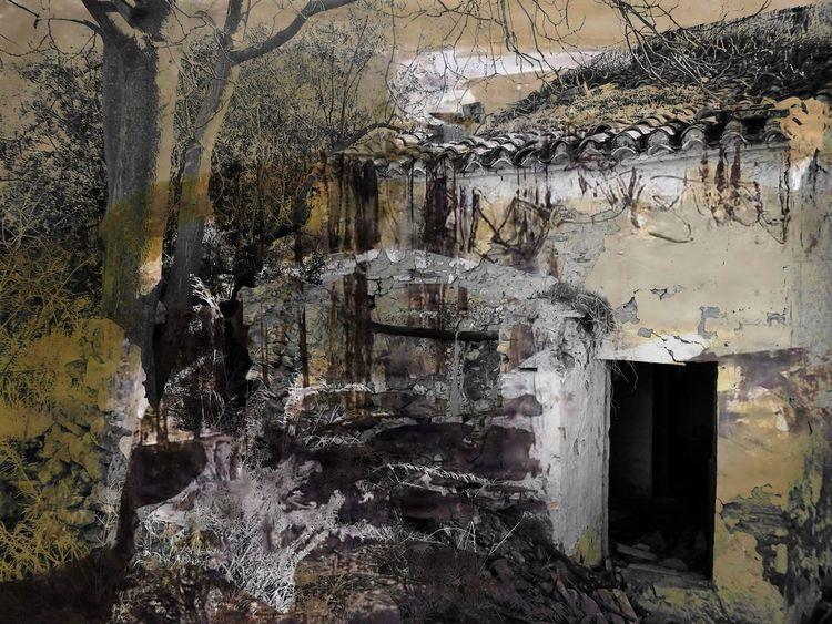 Ruine, Rückblick, Gemäuer, Loslassen, Geschichte, Fotografie