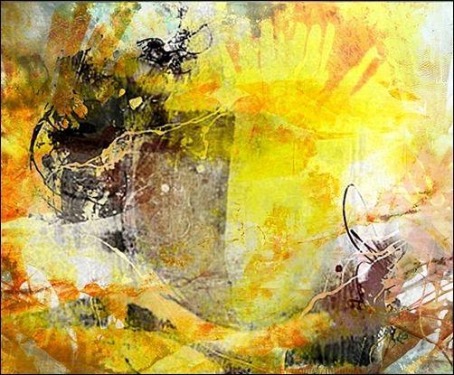 Licht, Sonne, Tor, Digitale kunst