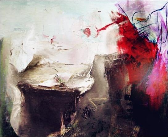 Abstrakt, Fantasielandschaft, Digital, Digitale kunst