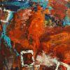 Vielschichtig, Spachteltechnik, Expressionismus, Malerei