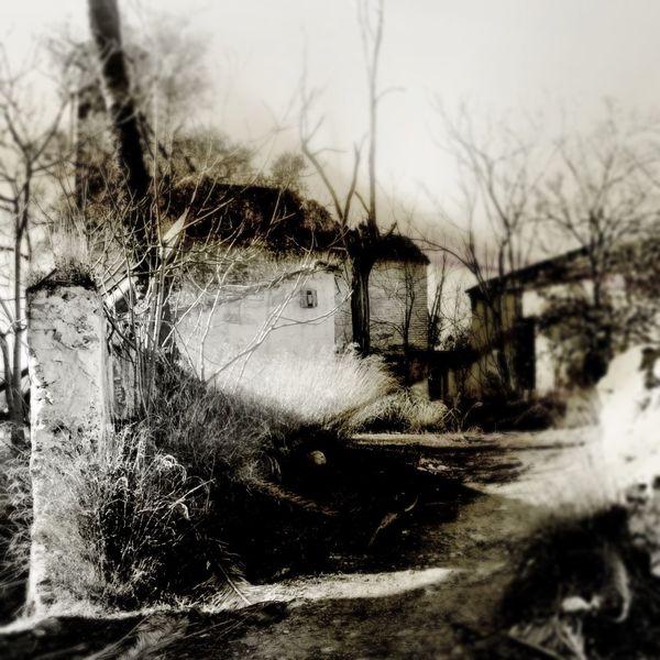 Ruine, Vergangenheit, Dorfleben, Verlassen, Gebäude, Stille