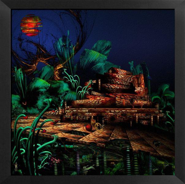 Fotografie, Digital, Landschaft, Surreal, Architektur, Digital art