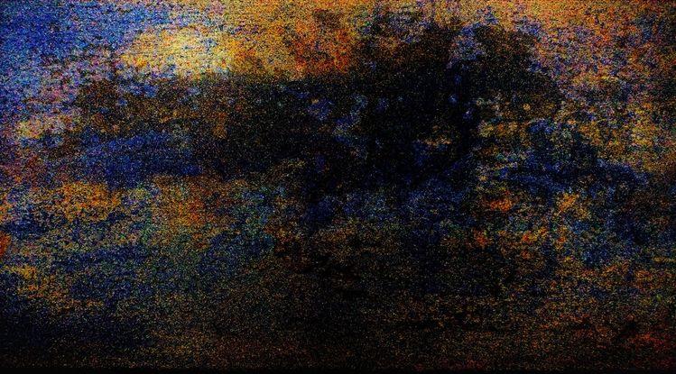 Landschaft, Busch, Baum, Sonne, Wolken, Morgen