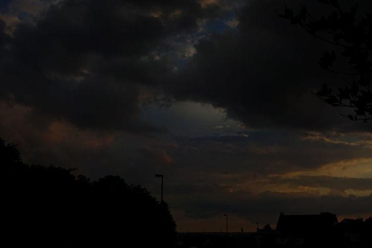 Hdr, Gewitter, Stadt, Dämmerung, Fotografie
