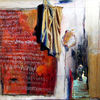 Malerei, Luft, Gegriffen, Tag
