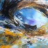 Wasser, See, Abstrakte kunst, Textur