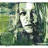 Portrait, Linol, Druck, Film