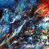 Dekoration, Abstrakte malerei, Farben, Malerei