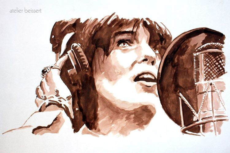 Musik, Florence welch, Songwriterin, Maschine, Sänger, Aquarell