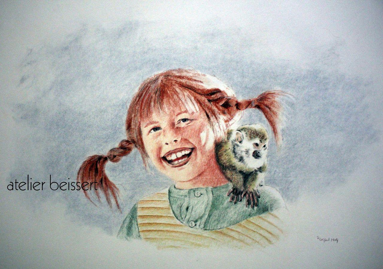 Pippi - Astrid lindgren, Serie, Pippi langstrumpf