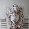 Maskaron, Fassade, Leipzig, Frauenportrait
