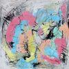 Farben, Ausdruck, Pastellmalerei, Acrylpainting