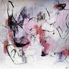 Abstrakte kunst, Ausdrucksmalerei, Gefühl, Acrylmalerei