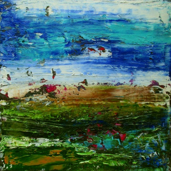 Ölmalerei, Landschaft, Abstrakt, Malerei