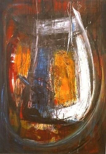 Chaos, Acrylmalerei, Abstrakt, Malerei