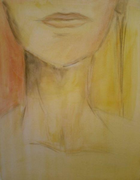 Kinn, Hals, Gesicht, Malerei