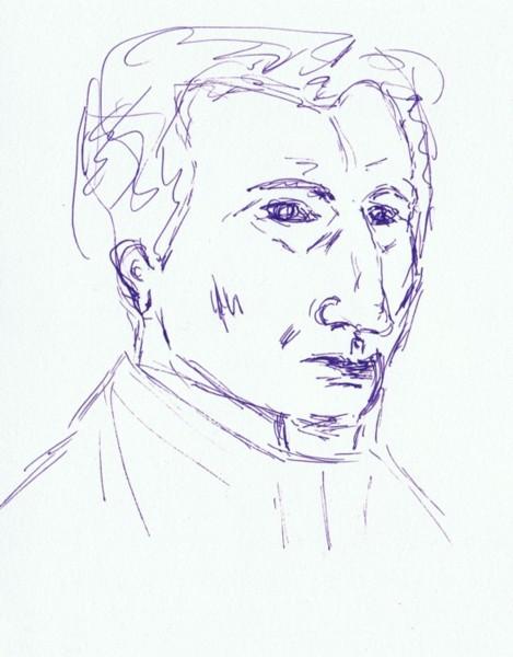 Skizze, Portrait, Zeichnungen