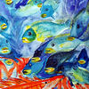 Natur, Aquarellmalerei, Tiere, Fisch