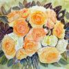 Rose, Rosenstrauß, Stillleben, Blumen