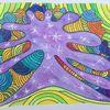 Fantasie, Gekritzel, Zeichnung, Klecks