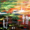 Abstrakt, Helén, Acrylmalerei, Malerei